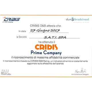 Sati Cribis Prime Company